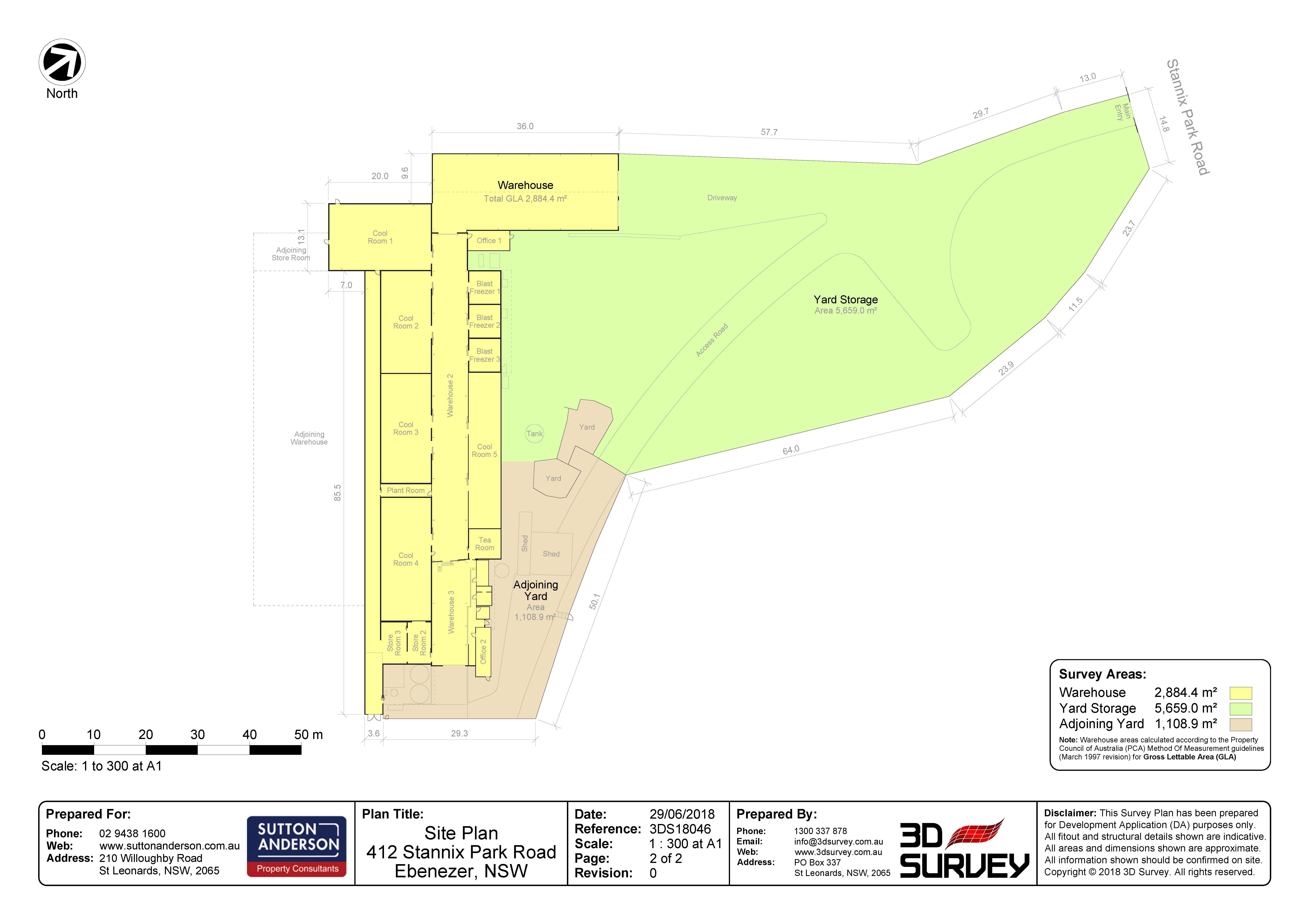 Ebenezer   412 Stannix Park Road   Site Plan