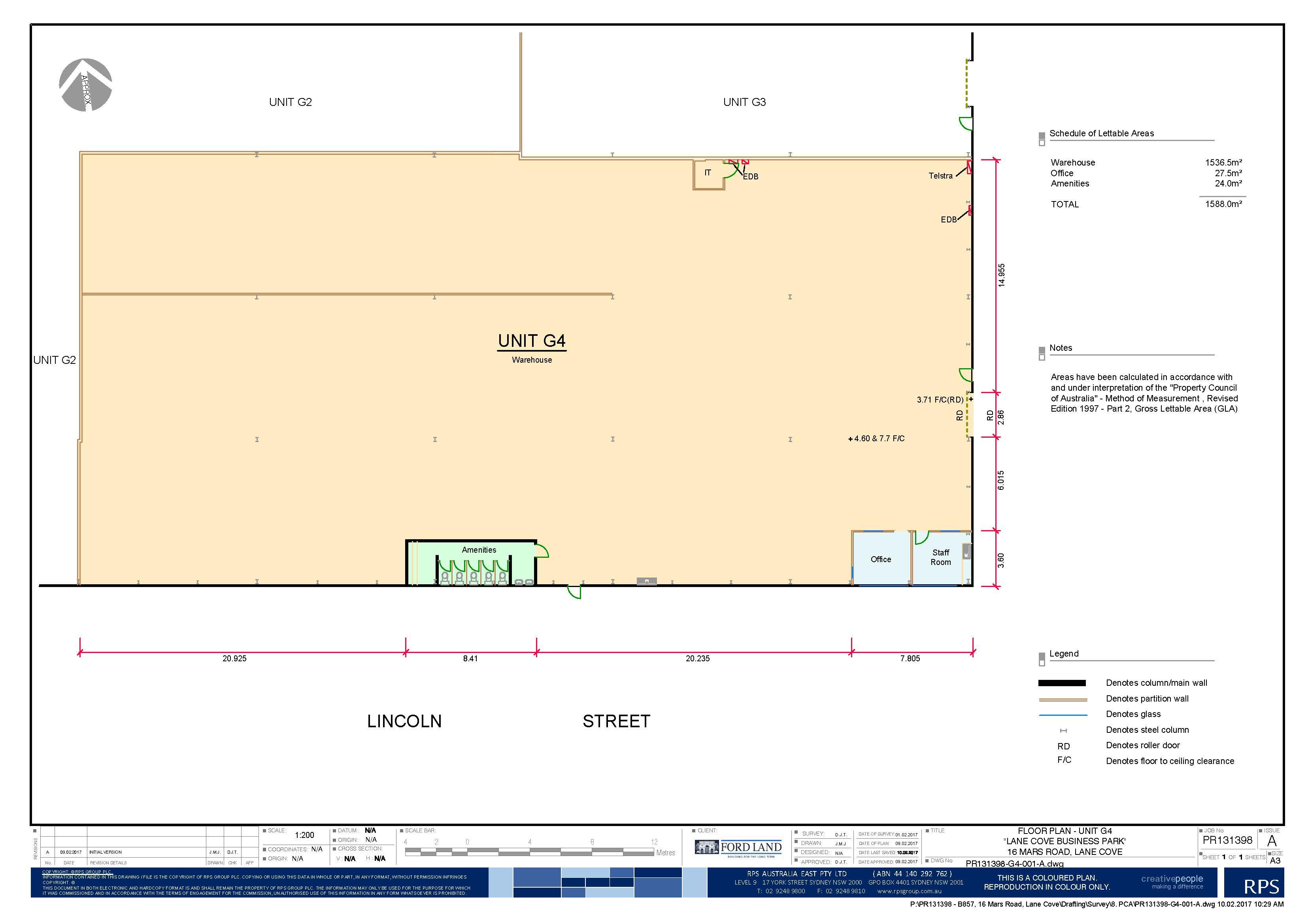 G4 Floor Plan